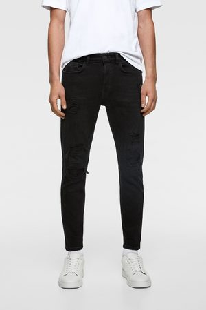Zara Skinny jeans with ripped hems
