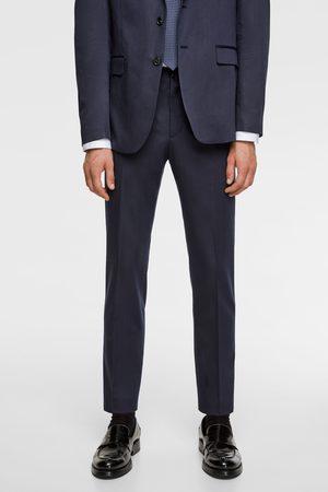 Zara Striped suit trousers