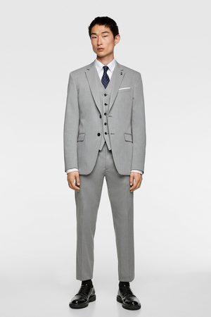 Zara Chintz comfort suit waistcoat