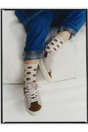Zara 2-pack of polka dot socks