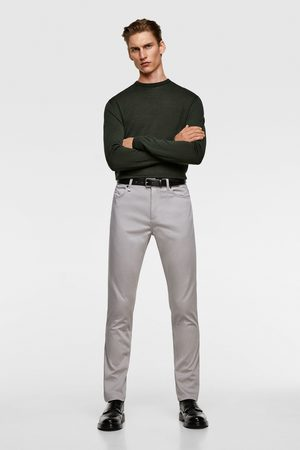 Zara Miehet Kapeat - Coloured skinny trousers