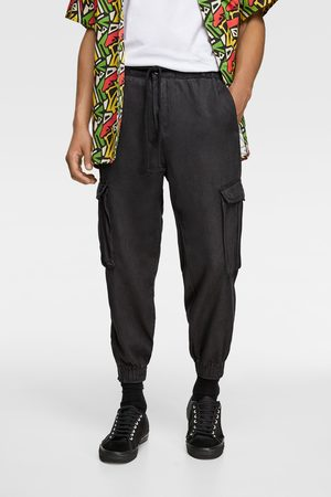 Zara Loose fit cargo trousers