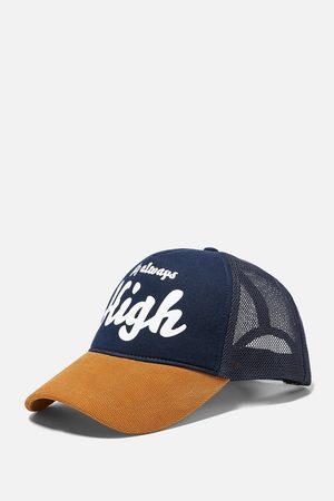 Zara Miehet Lippikset - Slogan cap