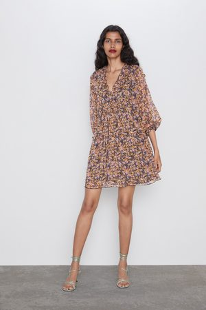 Zara Naiset Printtimekot - Printed flowing dress
