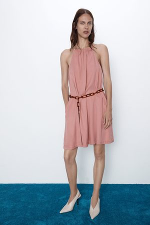 Zara Dress with chain belt