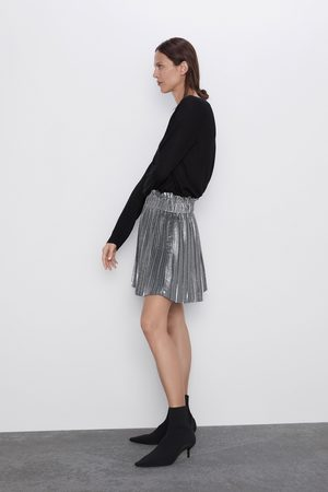Zara Mini pleated skirt