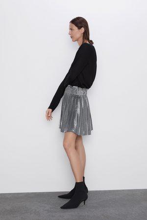 Zara Mini pleated skirt