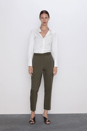 Zara Cargo pocket trousers