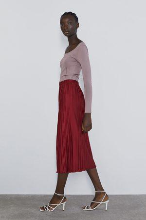 Zara Naiset Vekkihameet - Pleated skirt