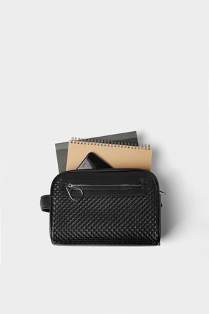 Zara Miehet Toilettilaukut - Braided toiletry bag
