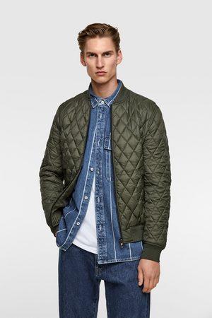 Zara Diamond quilted jacket