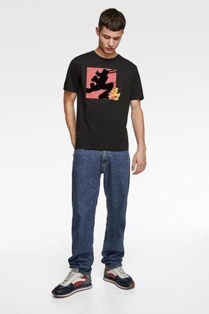 Zara T-shirt with combined ©disney print
