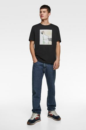 Zara T-shirt with illustration © gruau collection