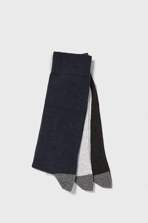 Zara Pack of contrast socks