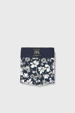 Zara Miehet Bokserit - Floral print boxers