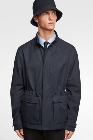 Zara Water-repellent traveller jacket