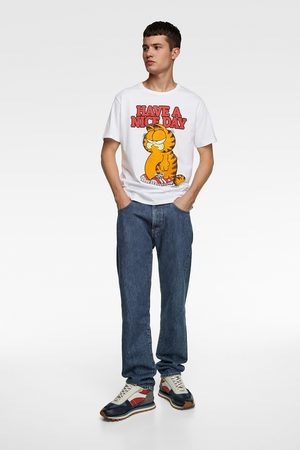 Zara Garfield ©paws inc t-shirt