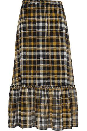 Just Female Brix Maxi Skirt Pitkä Hame Monivärinen/Kuvioitu
