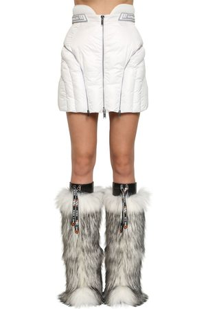 Byblos Naiset Minihameet - Quilted Nylon Mini Skirt