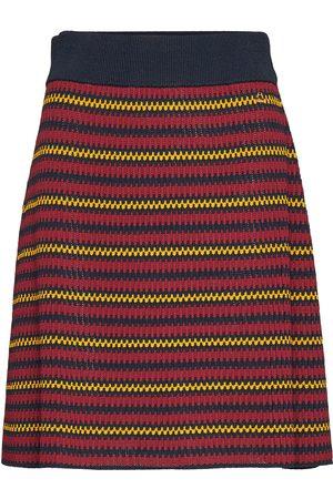Morris Lady Naiset Midihameet - Colette Knit Skirt Polvipituinen Hame Monivärinen/Kuvioitu