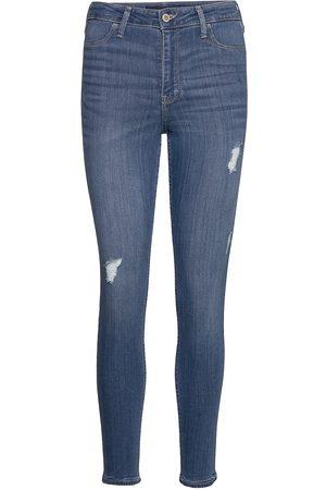Hollister High Rise Jean Legging Skinny Farkut Sininen