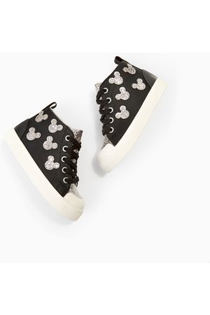 Zara DISNEY HIGH TOP SNEAKERS
