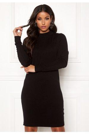 Object Thess L/S Knit Dress Black L