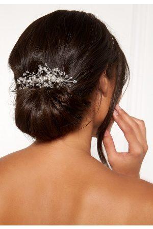 Ivory & Co Naiset Hiusasusteet - Medium Crystal Comb Silver Crystal One size