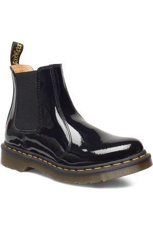 Dr. Martens 2976 Black Patent Lamper Shoes Chelsea Boots