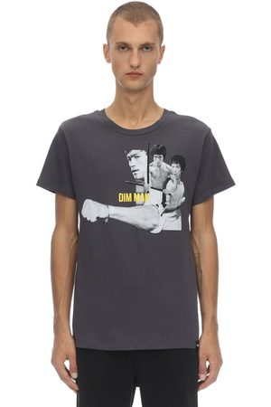DIM MAK COLLECTION Bruce Lee Fist Cotton Jersey T-shirt