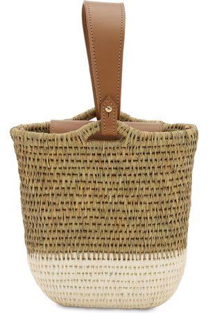 KHOKHO Naiset Olkalaukut - Zandi Raffia Bucket Bag
