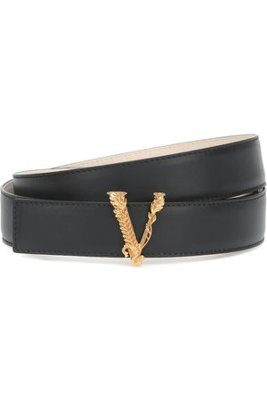 VERSACE Virtus leather belt