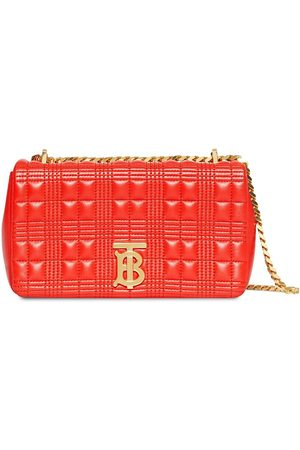 Burberry Small Quilted Check Lambskin Lola Bag