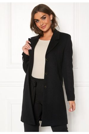 Selected Sasja Wool Coat Black 34