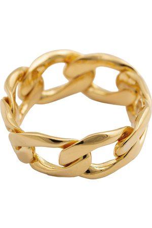 syster P Links Curb Chain Ring Sormus Korut Kulta