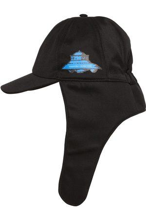 VALENTINO Miehet Hatut - Vu Ufo Printed Virgin Wool Aviator Hat