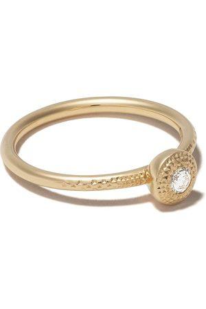 De Beers Naiset Sormukset - 18kt Talisman round brilliant diamond ring