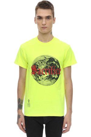 DARKOVELI Miehet T-paidat - Sacrifice Cotton Jersey T-shirt