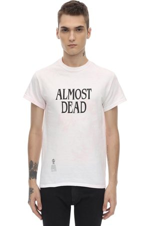 DARKOVELI Miehet T-paidat - Almost Dead Tie Dye Cotton T-shirt