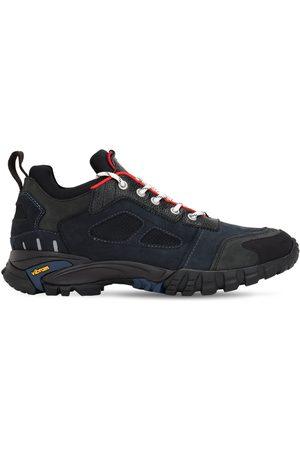 Heron Preston Security Low Top Leather Sneakers