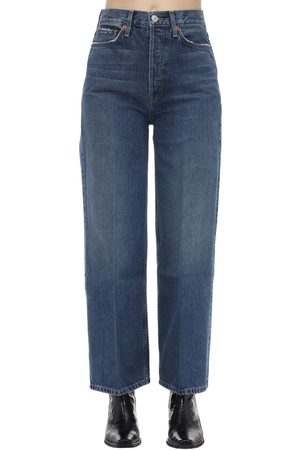 RE/DONE 60s Extreme Wide Leg Cotton Denim Jeans