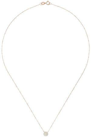 Dana Rebecca Designs 14kt Lauren Joy mini disc diamond necklace