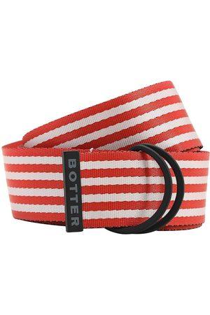 Botter Miehet Vyöt - 40mm Striped Nylon Belt