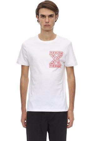 CHRISTOPHER RAEBURN Raeuburn Print Cotton Jersey T-shirt