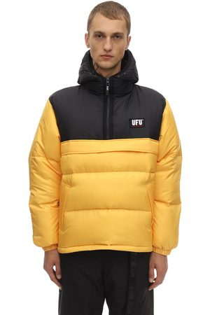 UFU - USED FUTURE Miehet Untuvatakit - Mag Color Block Puffer Jacket