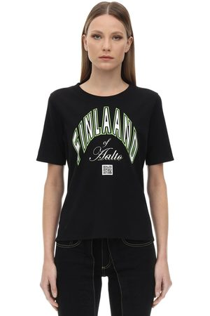 AALTO Printed Cotton T-shirt
