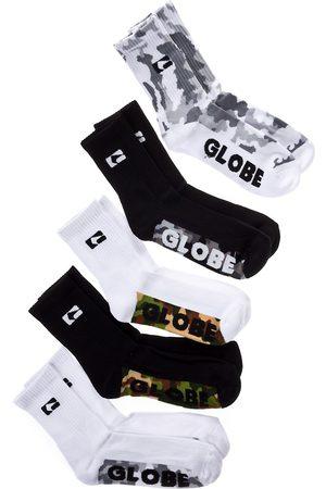 Globe Miehet Sukat - Malcom Crew 7-11 5Pk Socks