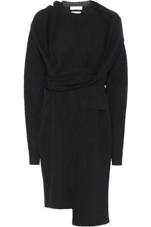 Bottega Veneta Asymmetric wool dress