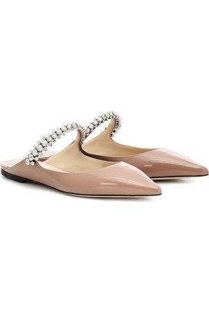 Jimmy choo Bing patent leather slippers