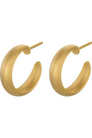 Pernille Corydon Soho Hoops - 18mm Accessories Jewellery Earrings Hoops Kulta